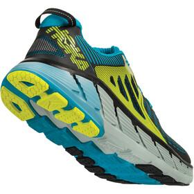 Hoka One One Gaviota Running Shoes Herr black/caribbean sea